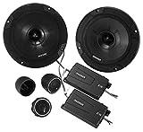 Kicker 46CSS654 Car Audio 6 1/2' Component Full Range Stereo Speakers Set CSS65