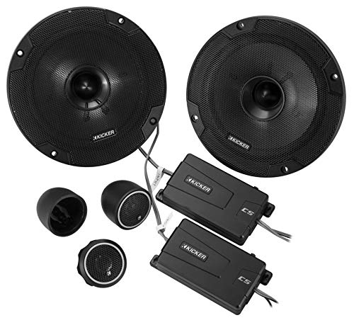 "Kicker 46CSS654 Car Audio 6 1/2"" Component Full Range Stereo Speakers Set CSS65"
