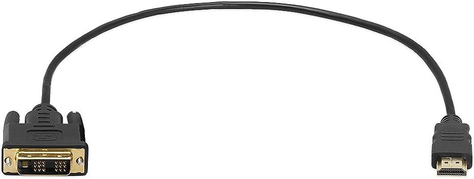 PC Laptop Sich Monitor 2m HDMI Stecker Auf Dvi-D Adapter Kabel Video