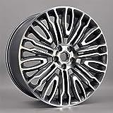 Super1Six Modifizierte Aluminiumlegierung Alufelge Felge, Vorder- Und Hinterräder 22 * 10.0, Niederdruckgussfelgen, Passend Für Verschiedene Modelle Wie Range Rover L405 Sport,22 * 10.0