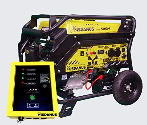 GENERADOR ELECTRICO AUTOMATICO 5000W