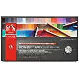 Caran d'ache Luminance 6901 - Paquete de 76 lápices de colores, multicolor