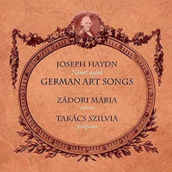 German Art songs (Német dalok)