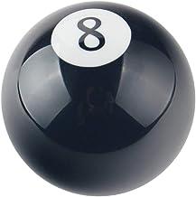 Pomello per Leva del Cambio a Forma di Palla da Biliardo Personalizzabile Colore Senoow Nero