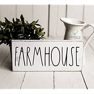 Rustic Farmhouse Sign | Rustic Wood Sign | Farmhouse Sign | Inspired Rae Dunn Sign | Rustic Home Decor | Farmhouse Home Decor | French Farmhouse Decor | Shabby Chic Decor | Primitive Decor