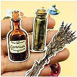 BLOUR 38 unids/Set Vintage Ángel Botella Seta Pegatina mágica Manualidades DIY álbum de Recortes Diario planificador Feliz Pegatinas Decorativas
