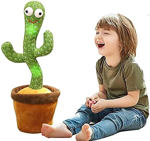 siyushop Hablando y Bailando el Juguete de Peluche de Cactus, Juguetes de educación de la Primera...