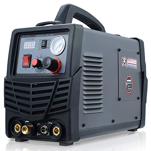 CTS-160, 160A TIG-Torch, 140A Stick Arc Welder & 30A Plasma Cutter 3-in-1 Combo Welding