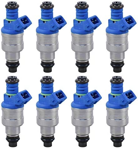 POLEMOTOR Fuel Injectors 0280150943 0280150939 0280150909 Compatible for Ford F150 F250 F350 product image