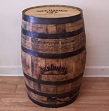 Jack Daniels Laser Engraved and Branded Whiskey Barrel