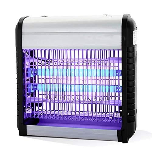 Lampada Anti Zanzara-Lampada UV Killer 12W per La Lampada Ad Alta Pressione del Kitter della Pressione Electica del Giardino Domestico della Cucina ZHML (Colore : Silver)