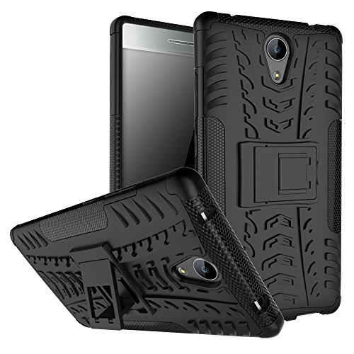 Shockproof Case for Lenovo Phab 2,Hybrid Case for Lenovo Phab 2, Dual Layer Shockproof Hybrid Rugged Case Hard Shell Cover with Kickstand for 6.4'' Lenovo Phab2 [Not fit Phab2 Plus or Phab 2 Pro]