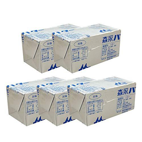 【まとめ買い】バター 加塩(有塩)バター 森永乳業 450gx5個