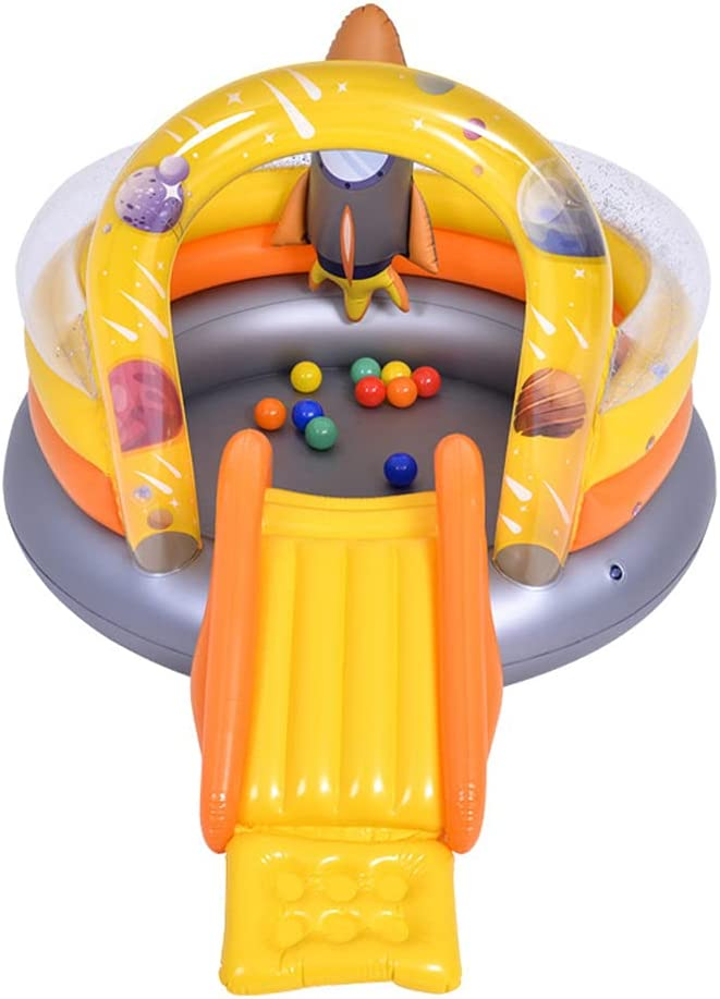 LANGWEI Inflatable Water Slide Castle Pool Park price Max 46% OFF Kids