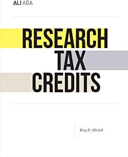 Research Tax Credits: Defining the Terms of the Engagement (www.ali-aba.org/BK88)