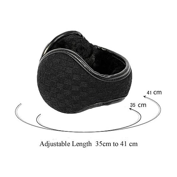 Ear Muffs Winter Warm Knitted Earmuffs Foldable Winter Outdoor Sport Unisex Cashmere Ear warmer by Wishfly