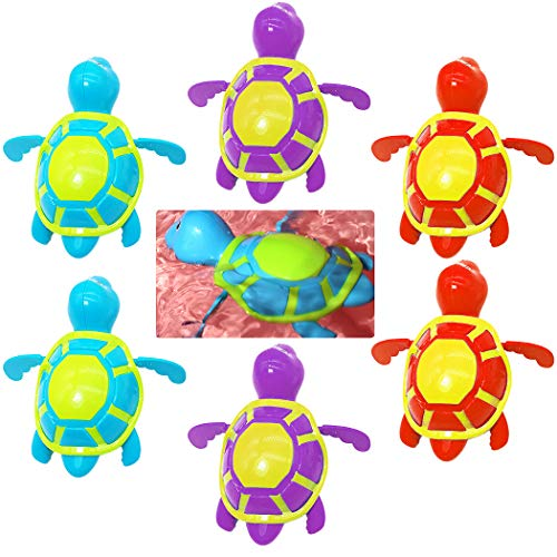 Why Should You Buy FunPa 6PCS Kids Bath Toy Swimming Turtle Wind up Toy Pool Toy Water Toy for Toddl...