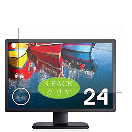 """VacFun 3 Piezas Claro Protector de Pantalla, compatible con Dell Monitor U2412M 24"""", Screen Protector Película Protectora(Not Cristal Templado) NEW Version"""