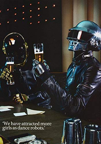 Desconocido Daft Punk Human After All Póster Foto Random Access Memories Camisa CD 001 (A5-A4-A3) - A5