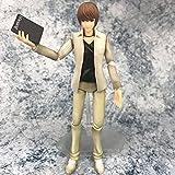 XYZLEO Anime Death Note Yagami Light Figuras Juguetes Lindos Colección PVC Nota DE Muerte Figura