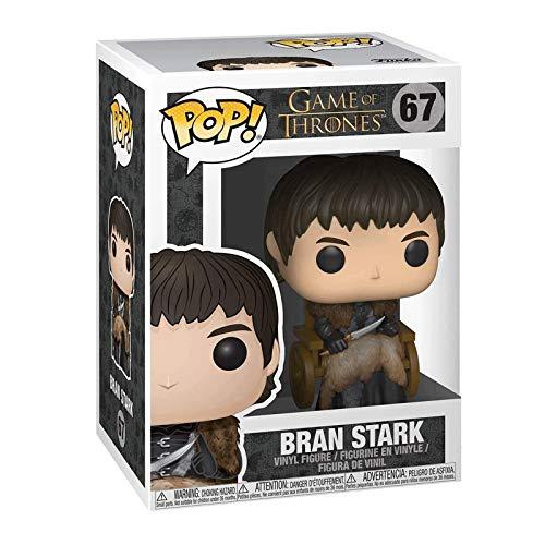 Funko Pop Television : Game of Thrones - Bran Stark 3.9inch Vinyl Gift for Boys Fantasy Television Fans Gift for Boy