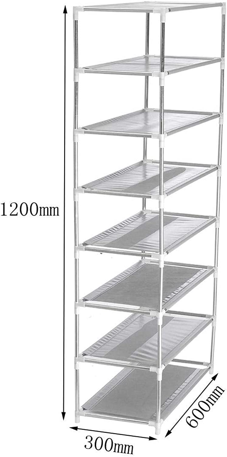 Vuelta de 10 dias Multi Layer Tier Optional Metal zapatos zapatos zapatos Rack Storage Organizer Stand Shelf Holder - 8  perfecto