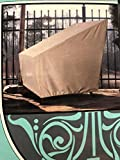 Patio Armor SF46612 Extra Large Ripstop Patio Chair Cover, 33 L x 40 W x 36 H, Taupe