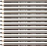 Matita colorata triangolare - STABILO Trio thick - Confezione da 12 - Marrone Scuro