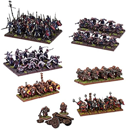 Unbekannt Mantic Games 5060208868357 - Kings of War 2nd Edition - Two Player Battle Set - Spiele