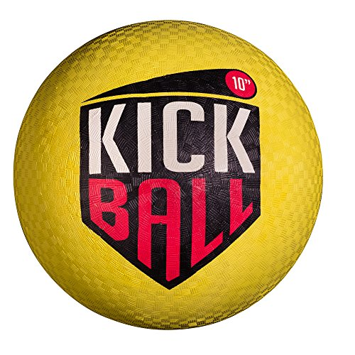 Franklin Sports Rubber Kickball - Yellow, 10""
