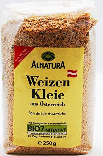 Alnatura Bio Weizenkleie, 3er Pack (3 x 250g)