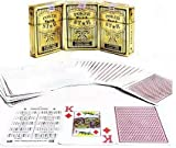 4everWithU Shandaar Naipes Poker (Blanco) FZC # 558
