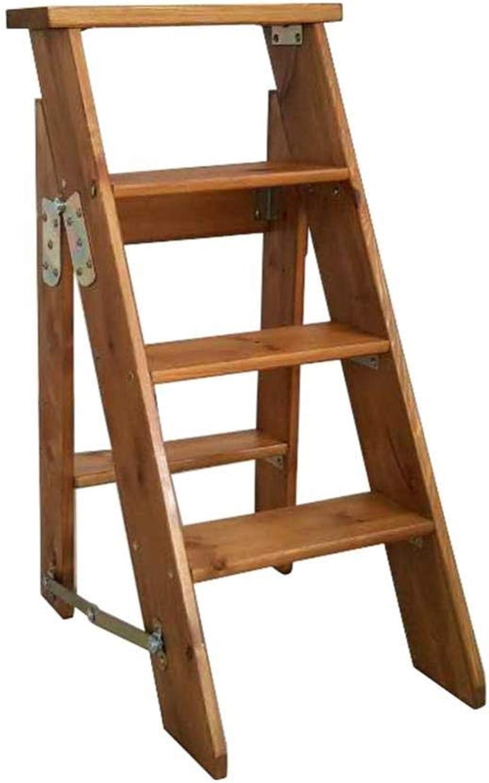 XITER-Stehleitern Stepladder Folding Ladder Hocker Treppen Multifunktions-Renovierungs-Haus Ladeleiter 4 Schritte Hocker