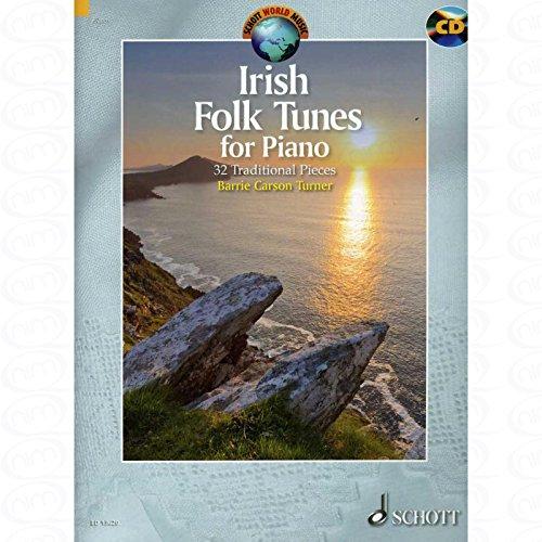 Irish folk tunes - arrangiert für Klavier - mit CD [Noten/Sheetmusic] aus der Reihe: Schott World Music