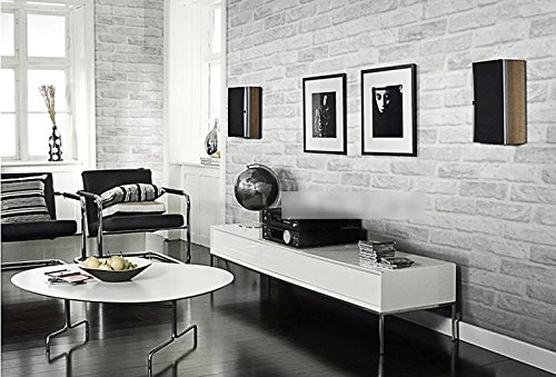 WH-PORP Vintage Rustic Grey White Brick tapete Roll Bedroom Dinning Living Room Wall Covering Modern 3D Wall Paper Home Decor-250cmX175cm