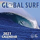 2021 GLOBAL SURF CALENDAR (12'X12') WALL, SAVE THE WAVES, SURFING BOARD SPORTS