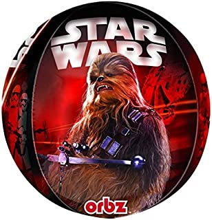Anagram Star Wars The Force Awakens Orbz Foil Helium Balloon