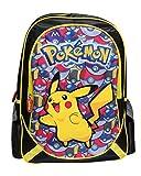 PoKéMoN MC-232-PK Zaino di Pikachu con Pokeballs, Dimensione: 43cm
