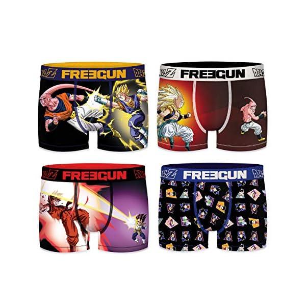 51h82ukwY8L. SS600  - FREEGUN Boxer unitario Dragon Ball Z para Hombre