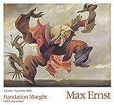 MAX ERNST Poster L'Ange Du Foyer 59,7 x 64,8 cm 1983
