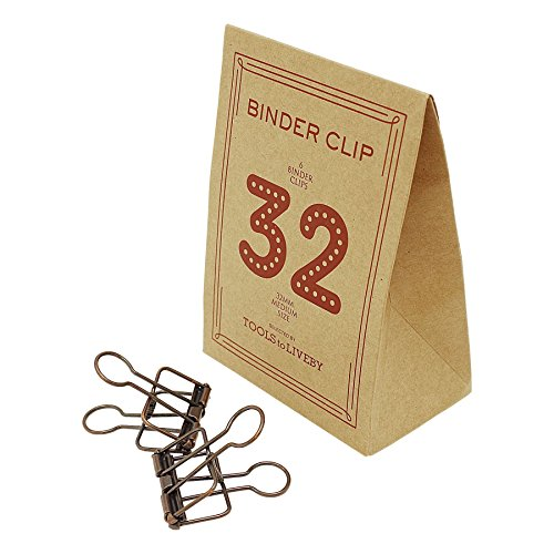 BINDER CLIP/バインダークリップ 32 TTLB【ブロンズ】 TL019-BZ