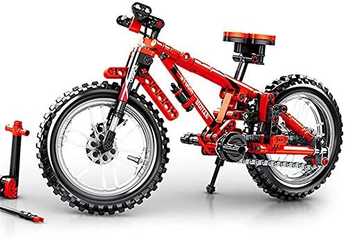 NXNX 306 Stücke Mountainbike Block Set DIY Fahrrad Modell Gebäude Spielzeug Für Kinder Geschenk