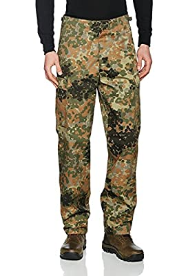 Mil-Tec Flecktarn Camo Range BDU Style Field Pants (Large (36-38 inch))