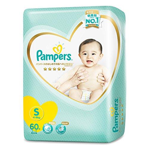 P&G パンパース はじめての肌へのいちばん テープSサイズ 60枚