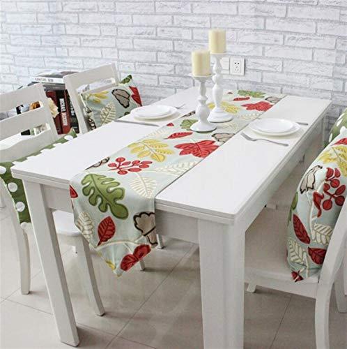 Caminos de Mesa Flor Floral Tabla Corredores Moderno Algodón Cubiertas Simple Cubiertas Cubiertas Cubiertas Tableros Tabla Corredor Manteles (Size : 30X200CM)