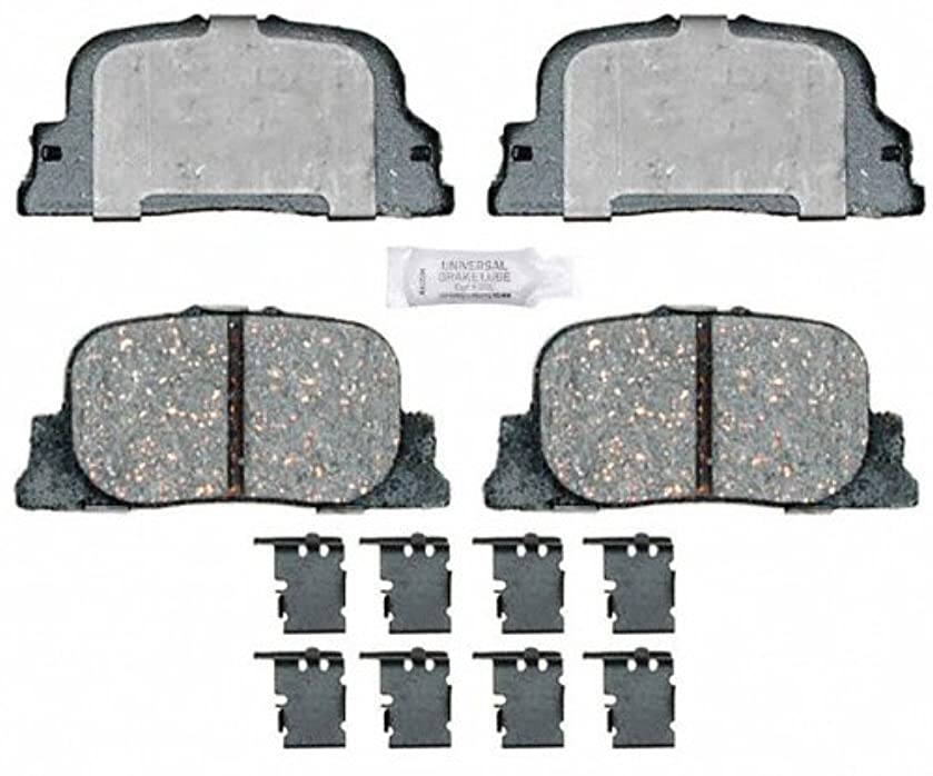 ACDelco 17D1088CH Professional Ceramic Rear Disc Brake Pad Set