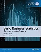 Basic Business Statistics with MyStatLab, Global Edition