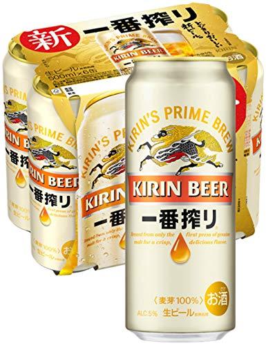【ビール】キリン 一番搾り生ビール [ 500ml×6本 ]