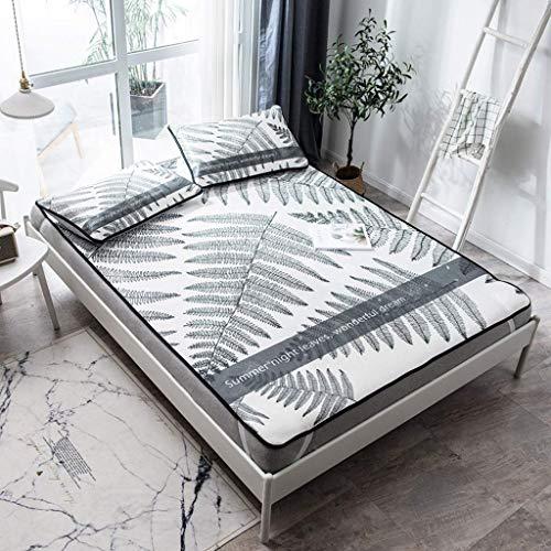 WXHHH Faltbares Sommer-EIS-Silk Matratze, Klimaanlage Matratze Anti-Rutsch-Kühl Matratze DREI Sätze