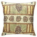 fenrris65 Fundas de almohada decorativas de 45,7 x 45,7 cm, cuadradas, para sofá, dormitorio, coche, estilo rústico, cabina, cabina, cabina, cabaña o logia, colores